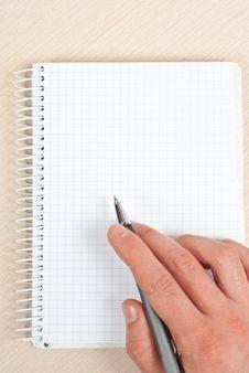Free Notebook Writing Stock Photos - 18374333