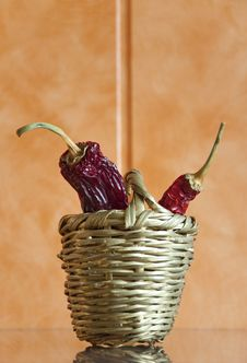Free Chili Peppers Royalty Free Stock Photos - 18374428