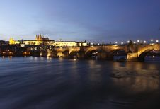 Free Prague At Sunset Royalty Free Stock Photography - 18374947