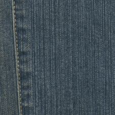 Free Jeans Fabric Royalty Free Stock Image - 18375026