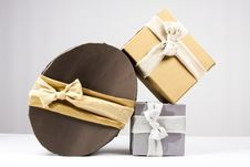 Free Present Boxes Royalty Free Stock Image - 18375286