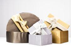 Free Present Boxes Royalty Free Stock Photos - 18375298