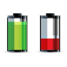 Free Battery Level Royalty Free Stock Image - 18375656