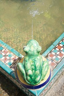 Free Frog Sculpture Stock Photography - 18375952