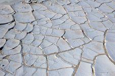 Cracked Ground. Stock Photography