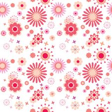 Free Seamless Floral Pattern Stock Images - 18376474