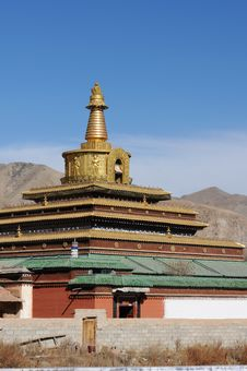 Free Lamasery In Tibet Stock Images - 18376664