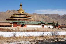 Free Landscape In Tibet Stock Image - 18376921