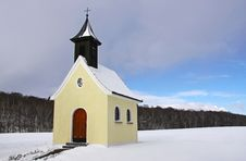 Free Little Chapel In Bavaria Stock Image - 18377291