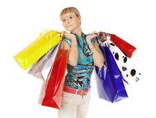 Free Christmas Shopping Royalty Free Stock Image - 18377336