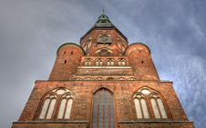 Free Cathedral Of Greifswald (Germany) Royalty Free Stock Image - 18377446