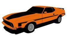 Free Old Car  Illustration Stock Images - 18377924