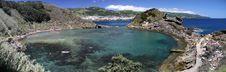 Panorama Island Illheu De Vila Franca (Azores) Stock Photo
