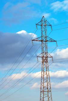 Free High Voltage Transmission Line Stock Image - 18378081