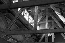 Free Attic Beams Royalty Free Stock Images - 18378299