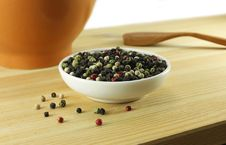 Free Mixture Of Peppercorn Royalty Free Stock Image - 18378386