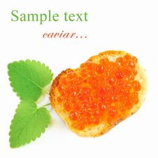 Free Red Caviar Stock Photography - 18378492