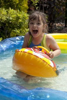 Free Fun In The Water Royalty Free Stock Photo - 18378635