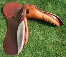 Free New English Saddle Made In Argentina Stock Images - 18378694