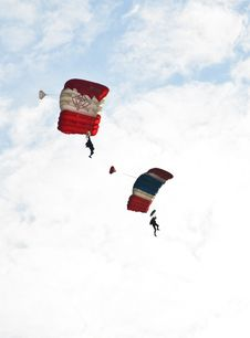 Free Parachute Stock Photography - 18379162