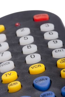 Free Remote For The TV Stock Photography - 18379382