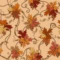 Free Seamless Foliage Background. Stock Photo - 18380190