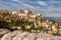 Free Provence Village Gordes Overlook Royalty Free Stock Image - 18387146