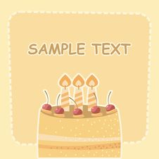 Cake Royalty Free Stock Photo