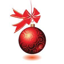 Free Christmas Ball Royalty Free Stock Photos - 18380978
