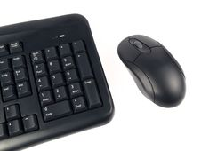 Free Keyboard With Mouse Royalty Free Stock Images - 18381689