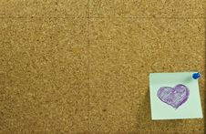 Free Corkboard Background Stock Photography - 18381862
