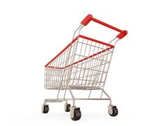 Free Shopping Trolley Stock Photos - 18381993