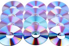 Free CDs. Stock Image - 18382001