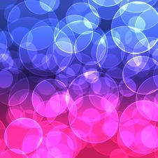 Free Colorful Bokeh Background Royalty Free Stock Photography - 18382267