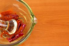 Free Hot Chili Pepper With Copy Space Royalty Free Stock Photo - 18382795