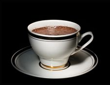 A Cup Of Chocolate Drink Royalty Free Stock Image
