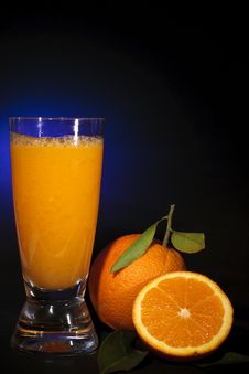 Free Natural Orange Juice, Art Background Stock Photo - 18383610