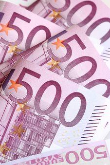 Free Euro Banknotes Royalty Free Stock Image - 18383716