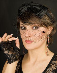 Free Veil Lady. Stock Image - 18383771