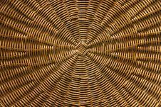 Free Circular Basket Weave Pattern Royalty Free Stock Image - 18384126