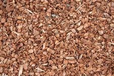 Free Wood Chips Used For Garden Mulch Royalty Free Stock Images - 18384129