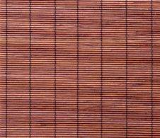 Free Bamboo Mat Background Royalty Free Stock Photos - 18384148