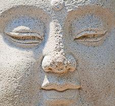 Free Close-up Of Ancient Buddha Stock Photo - 18384280