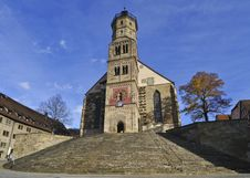 Free Schwaebisch Hall Church Stock Photography - 18386102
