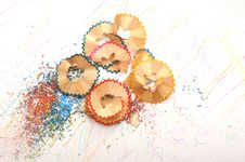 Free Pencil Shavings Stock Images - 18386924