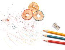 Free Pencil Shavings Royalty Free Stock Photo - 18386945