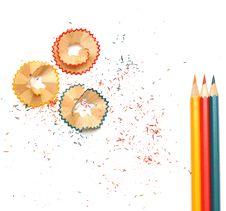 Free Pencil Shavings Stock Photos - 18386973