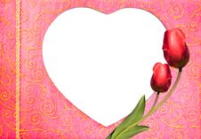 Free Heart Shape Wallpaper Background Royalty Free Stock Images - 18387169