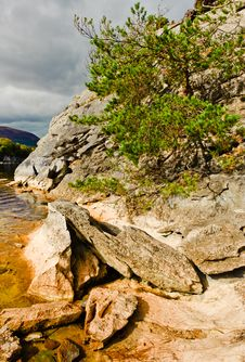 Free Rocks By Lake, Killarney Ireland Stock Images - 18387254