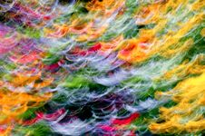 Free Blurred Colorful Flowers Stock Photos - 18387393